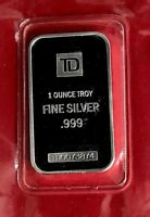 Toronto Dominon TD Bank 1 oz .999 Silver Bar Sealed - Proof Finish