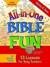 All-In-One Bible Fun: All-in-One Bible Fun : Stories of Jesus Preschool...