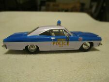 66' Plymouth Detroit Police car By Racing Champions #40