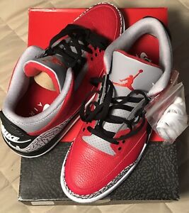 Air Jordan 3 Retro Fire Red SE Unite Size 13