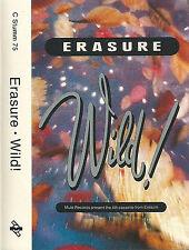 Erasure Wild! CASSETTE ALBUM Mute C STUMM 75 Electronic Pop Synth-pop 1989