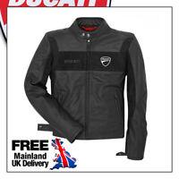 Ducati Motorbike Leather Jacket Black High Quality