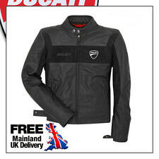 Ducati Motorbike Leather Jacket Black High Quality