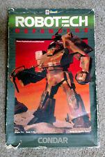Vintage Revell 1984 Robotech Defenders CONDAR 1/72 scale model kit, open,unbuilt