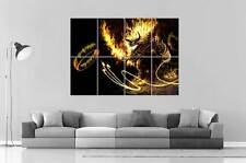BALROG LORD OF THE RINGS SEIGNEURS DE ANNEAUX Poster format A0 Large print