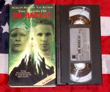 Island of Dr. Moreau (VHS, 1996) Marlon Brando, Val Kilmer, Sci Fi Horror