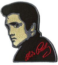 Patche écusson Elvis The King Rock thermocollant patch brodé