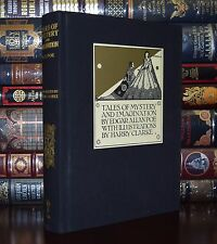 Tales of Mystery Imagination by Edgar Poe Illustrated Clarke  New Cloth Bound Ed