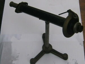 ANTIQUE BELLINGHAN & STANLEY POLARIMETER WITH GLASS TUBE, GOOD ITEM.