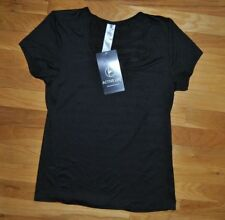 NWT Womens ACTIVE LIFE Black Performance Wicking Fitness Shirt Size XXL $48