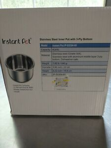 Instant Pot Stainless Steel Inner 6 Qt. Cooking Pot - IP-SS304-60
