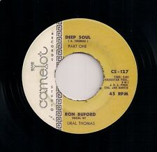 "60's FUNK 7"" 45 RON BUFORD URAL THOMAS DEEP SOUL Pts I & II US CAMELOT REISSUE"