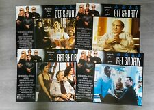 SET OF 8 CINEMA MOVIE LOBBY CARDS - GET SHORTY - JOHN TRAVOLTA