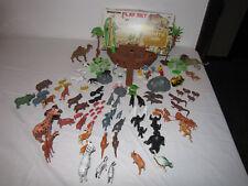 Vintage Noah's Ark miniature Play Set - Hong Kong -