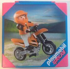 PLAYMOBIL 4698 MOTOCROSS BOY - SPECIAL - KLICKIES - 2010