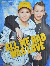 MARCUS & MARTINUS - A2 Poster (XL - 42 x 55 cm) - Clippings Fan Sammlung NEU