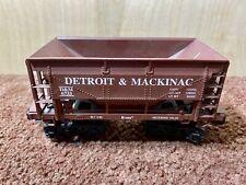 K-Line O Guage Ore Car Detriot & Mackinac #6733 No Box