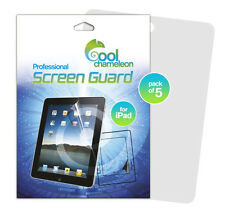 5 x Ultra Clear LCD Screen Protector Cover Guard Shield for iPad 4 3 2 +Delivery