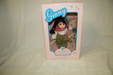 "NIB GINNY 8"" POSEABLE VINYL  71-6370 DOWN ON THE FARM  DOLLS NRFB"