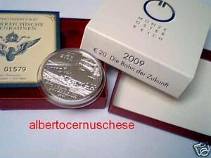 20 euro 2009 Ag Austria Autriche Die Bahn der Zukunft