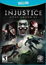 NEW Injustice: Gods Among Us Nintendo (Wii U, 2013)