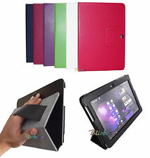 COVER PER SAMSUNG GALAXY TAB 2 10.1 TABLET CASE STAND PROTEZIONE ECOPELLE