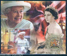 MOZAMBIQUE 2012  'DIAMOND JUBILEE OF QUEEN ELIZABETH II ' SOUVENIR SHEET MINT NH