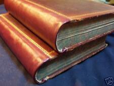 Pioneers American William Crafts 2 volumes leather 1876