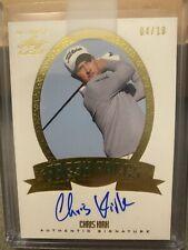 New listing Chris Kirk 2012 Leaf Golf Fresh Faces Auto /10