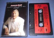 JAMES LAST LEAVE THE BEST TO LAST PAPER LABELS cassette tape album T4747