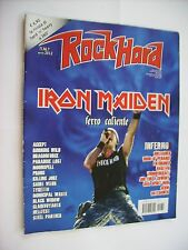 ROCK HARD #4 2012 - IRON MAIDEN - ACCEPT - RUNNING WILD - MOONSPELL - TYKETTO