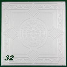 20 M2 pannelli di polistirolo PEZZO DECORATIVO PER SOFFITTO 50x50cm, N.32