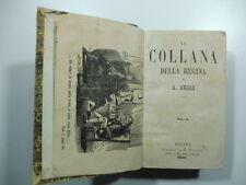 Dumas, La collana della regina, Milano, Sanvito, 1859