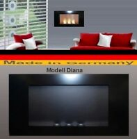 Fireplace Fire place Bio-Ethanol Ethanol GEL Modell DIANA Black Cheminee Heater
