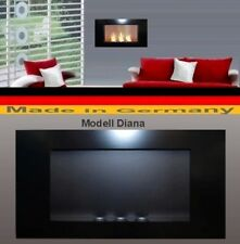 Fireplace Fire place Bio-Ethanol Ethanol GEL Modell DIANA Black Cheminee Heater