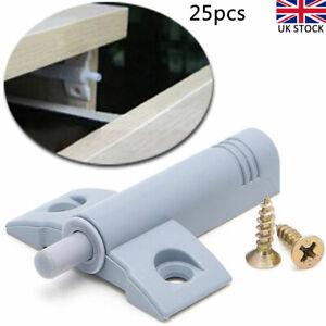 25PC Soft Close Kitchen Door Damper Cabinet Cupboard Drawer Stopper Quiet Closer