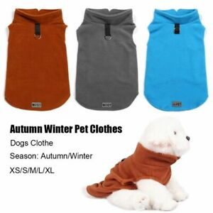 Vest Soft Thicken Autumn Winter Pet Clothes Pet Jacket Dogs Clothe Dog Sweater