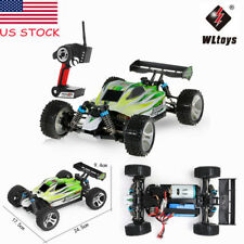 WLtoys A959-B 2.4G 1:18 1/18 4WD 70KM/H Electric Off-Road Buggy RC Car RTR D5B7