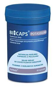 BICAPS POTASSIUM High Dose Only Natural Pullan Capsule Ingeredeints
