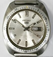 Scarce Vintage Seiko 5 Automatic 6119-8460 Day Date 21J Early Diver Watch