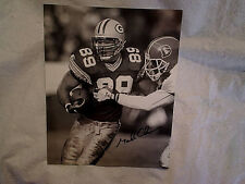 MARK CHUMURA SIGNED 8 x 10 GLOSSY PHOTO,Autograph,green bay packers,vs broncos
