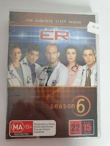 E R  The Complete Sixth Season DVD Region 4 Season 6