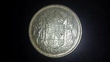 1957 Canada 50 Cents Silver Coin