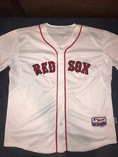 9601 MAJESTIC Boston Red Sox KEVIN YOUKILIS #20 SEWN Cool Base Baseball Jersey