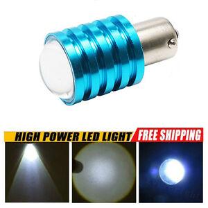 2x 1156 P21W 7W CREE Power Xenon White LED Reverse Brake Light Bulbs