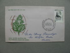 INDIA, cover FDC 1998, 32th Int. Homoepathic congress