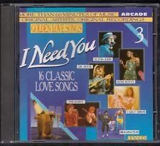 I NEED YOU 1987 ARCADE CD Elton John Babys Imagination Albert Hammond
