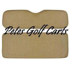 EZGO Golf Cart Rear Seat Cushion Set Fits Medalist TXT ST MPT Models TAN 1994+