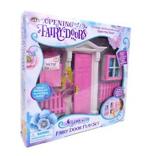 Pink OPENING FAIRY DOOR 10 PIECE SET - Australian Owned