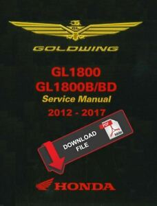Honda 2016 Gold Wing 1800 Service Manual